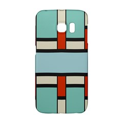 Vertical and horizontal rectangles			Samsung Galaxy S6 Edge Hardshell Case