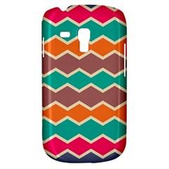 Colorful chevrons patternSamsung Galaxy S3 MINI I8190 Hardshell Case