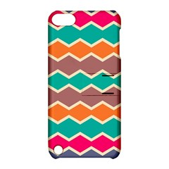 Colorful chevrons pattern			Apple iPod Touch 5 Hardshell Case with Stand