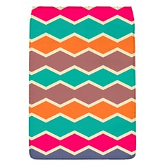 Colorful chevrons patternRemovable Flap Cover (S)