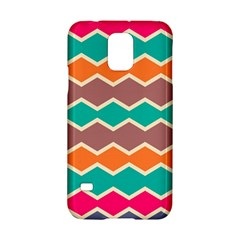 Colorful chevrons patternSamsung Galaxy S5 Hardshell Case