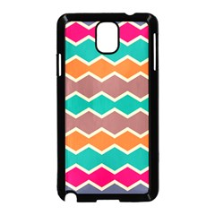 Colorful chevrons pattern			Samsung Galaxy Note 3 Neo Hardshell Case (Black)