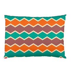 Colorful chevrons pattern			Pillow Case