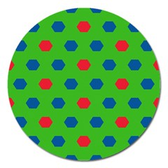 Honeycombs pattern			Magnet 5  (Round)