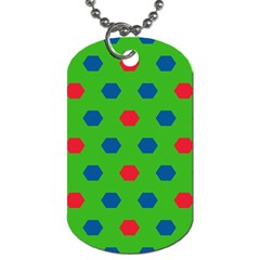 Honeycombs pattern			Dog Tag (One Side)