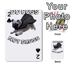 Do Pugs Playing Cards 54 Designs