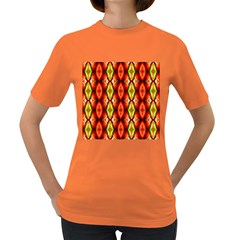 Melons Pattern Abstract Women s Dark T-Shirt