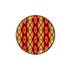 Melons Pattern Abstract Hat Clip Ball Marker