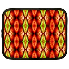 Melons Pattern Abstract Netbook Case (Large)