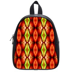 Melons Pattern Abstract School Bags (Small)