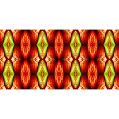 Melons Pattern Abstract You Are Invited 3d Greeting Card (8x4)
