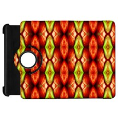 Melons Pattern Abstract Kindle Fire HD Flip 360 Case