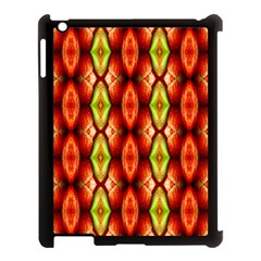 Melons Pattern Abstract Apple iPad 3/4 Case (Black)