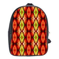 Melons Pattern Abstract School Bags (XL)