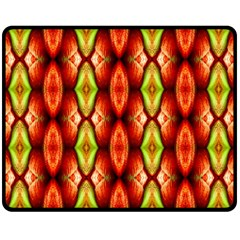 Melons Pattern Abstract Double Sided Fleece Blanket (Medium)