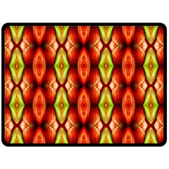 Melons Pattern Abstract Double Sided Fleece Blanket (large)