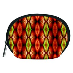 Melons Pattern Abstract Accessory Pouches (Medium)
