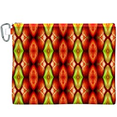 Melons Pattern Abstract Canvas Cosmetic Bag (XXXL)