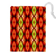 Melons Pattern Abstract Drawstring Pouches (xxl)