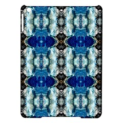 Royal Blue Abstract Pattern iPad Air Hardshell Cases