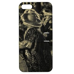 Group Of Candombe Drummers At Carnival Parade Of Uruguay Apple iPhone 5 Hardshell Case with Stand