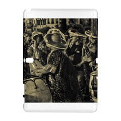 Group Of Candombe Drummers At Carnival Parade Of Uruguay Samsung Galaxy Note 10.1 (P600) Hardshell Case