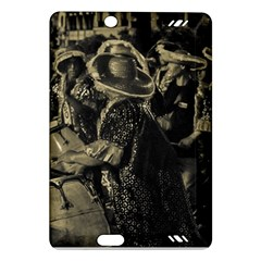 Group Of Candombe Drummers At Carnival Parade Of Uruguay Kindle Fire HD (2013) Hardshell Case