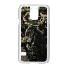 Group Of Candombe Drummers At Carnival Parade Of Uruguay Samsung Galaxy S5 Case (white)
