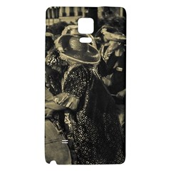 Group Of Candombe Drummers At Carnival Parade Of Uruguay Galaxy Note 4 Back Case