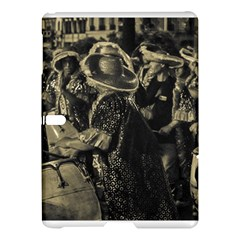 Group Of Candombe Drummers At Carnival Parade Of Uruguay Samsung Galaxy Tab S (10 5 ) Hardshell Case