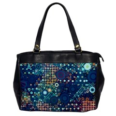 Blue Bubbles Office Handbags