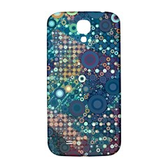 Blue Bubbles Samsung Galaxy S4 I9500/I9505  Hardshell Back Case