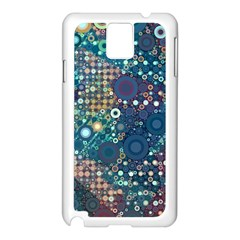 Blue Bubbles Samsung Galaxy Note 3 N9005 Case (White)