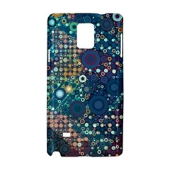Blue Bubbles Samsung Galaxy Note 4 Hardshell Case