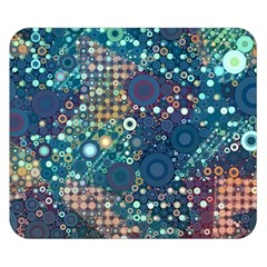 Blue Bubbles Double Sided Flano Blanket (Small)
