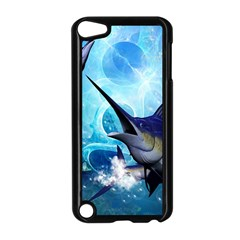 Awersome Marlin In A Fantasy Underwater World Apple iPod Touch 5 Case (Black)