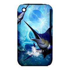 Awersome Marlin In A Fantasy Underwater World Apple iPhone 3G/3GS Hardshell Case (PC+Silicone)