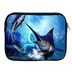 Awersome Marlin In A Fantasy Underwater World Apple iPad 2/3/4 Zipper Cases