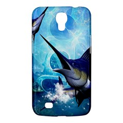 Awersome Marlin In A Fantasy Underwater World Samsung Galaxy Mega 6.3  I9200 Hardshell Case