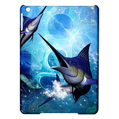Awersome Marlin In A Fantasy Underwater World iPad Air Hardshell Cases