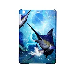 Awersome Marlin In A Fantasy Underwater World iPad Mini 2 Hardshell Cases