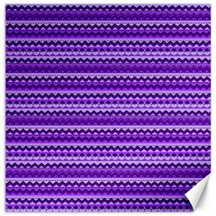 Purple Tribal Pattern Canvas 20  x 20