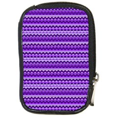 Purple Tribal Pattern Compact Camera Cases