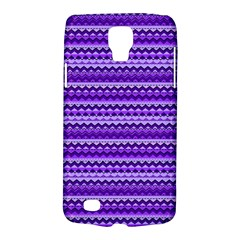 Purple Tribal Pattern Galaxy S4 Active
