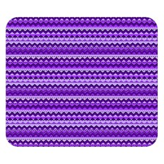 Purple Tribal Pattern Double Sided Flano Blanket (small)
