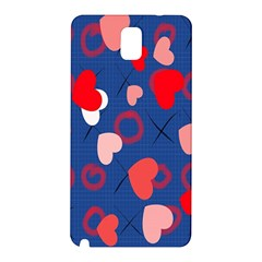 Hearts X s & O s Samsung Galaxy Note 3 N9005 Hardshell Back Case
