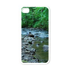 ROCKY STREAM Apple iPhone 4 Case (White)
