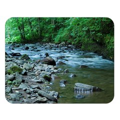 ROCKY STREAM Double Sided Flano Blanket (Large)