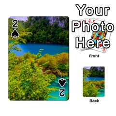 PLITVICE, CROATIA Playing Cards 54 Designs