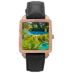 PLITVICE, CROATIA Rose Gold Watches